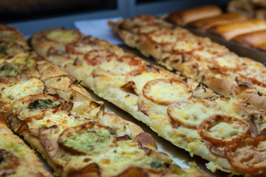 Bakkerij Pizzabroodjes